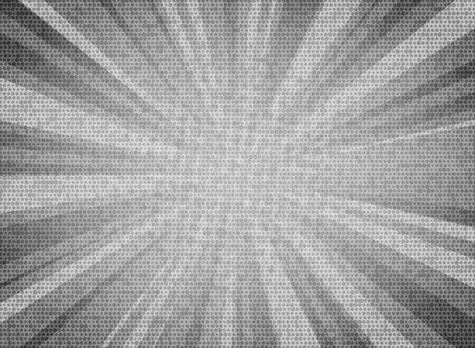O sol abstrato estourou o fundo cinzento branco do projeto da textura do teste padrão do círculo de cor. Você pode usar para o cartaz de vendas, anúncio de promoção, arte do texto, design da capa. vetor