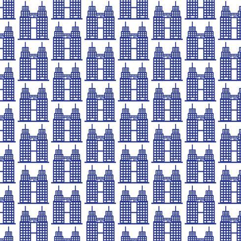 Pattern background Icona di hotel a cinque stelle