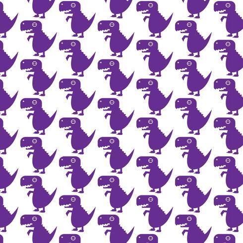 Pattern background Tyrannosaurus dinosaur icon