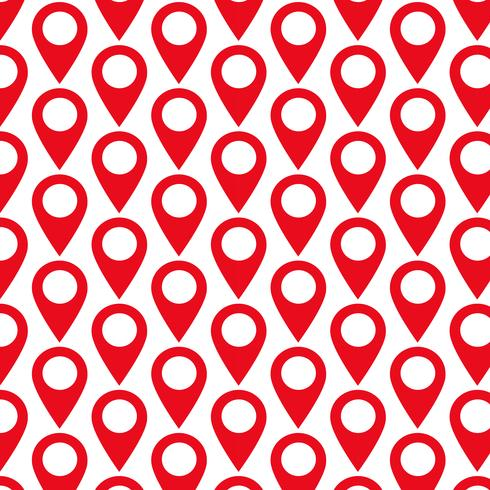 Pattern background GPS location Map pointer icon