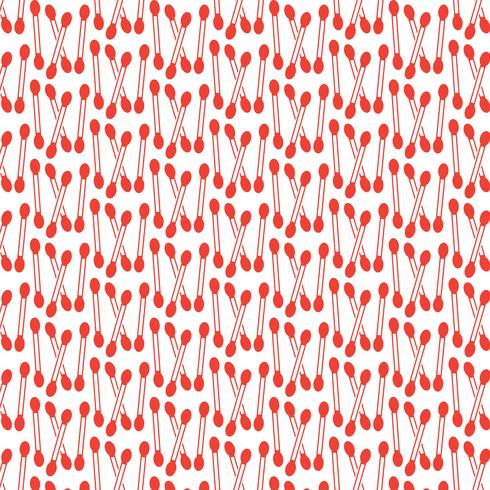 Pattern background Cotton swab icon