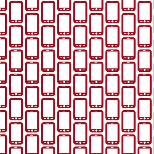 Pattern background Mobile phone icon