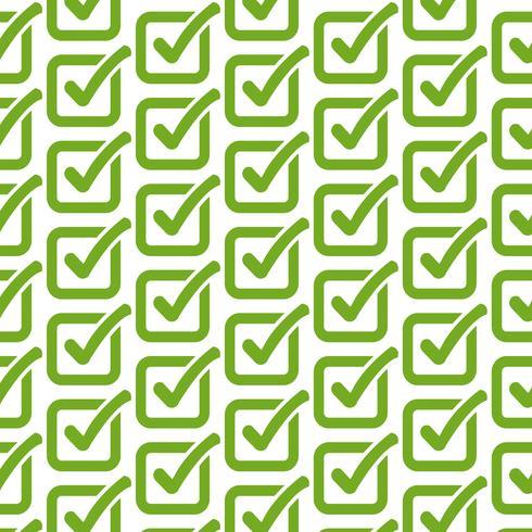 Plano de fundo padrão ícone de botão de lista de verificação
