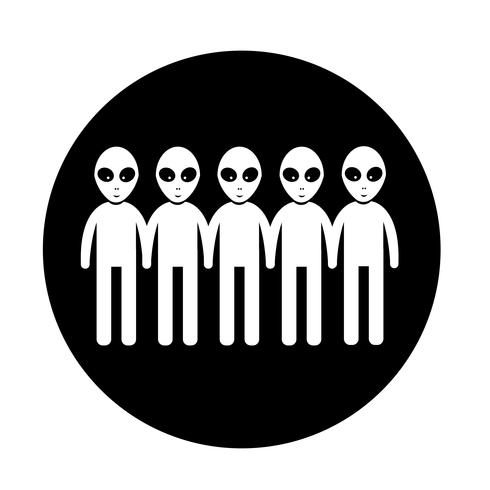 Alien Icon  symbol sign
