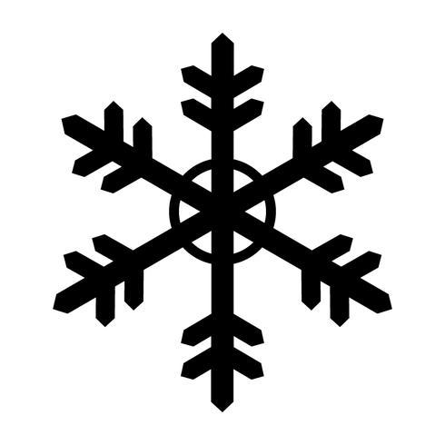 Um bom floco de neve