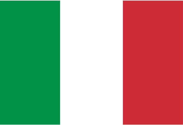 Flagga av Italien