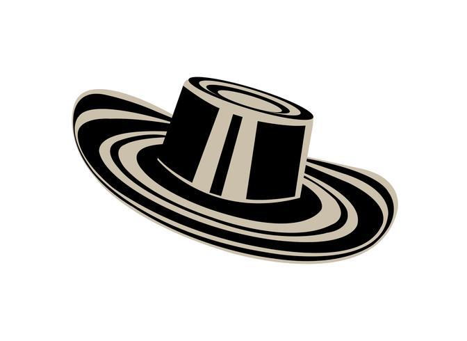 Chapéu colombiano de sombrero