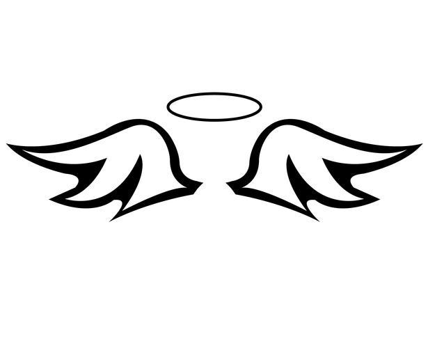 Ailes d'ange et auréole