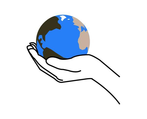 Main tenant un globe