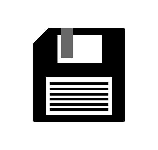 Vetor de disquete