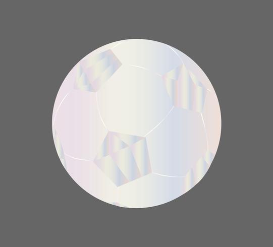 Bola de futebol de diamante