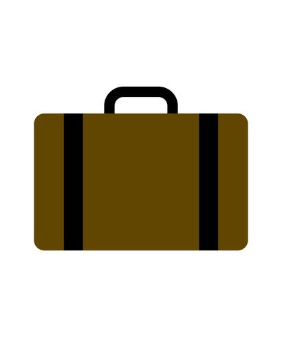 Vetor de saco de viagem