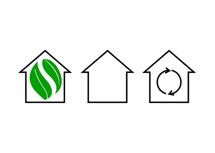 Recycling home icons