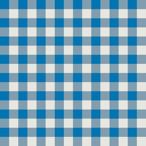 Padrão de tecido xadrez azul e cinza