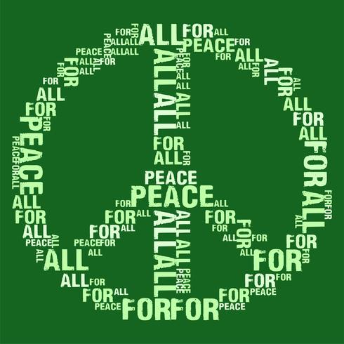Peace For All Green BG