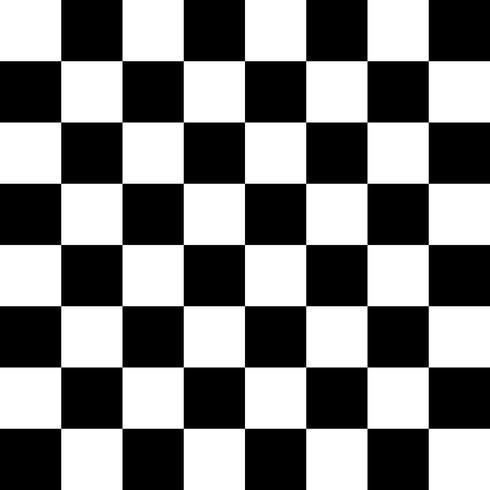 Checker Pattern Black White