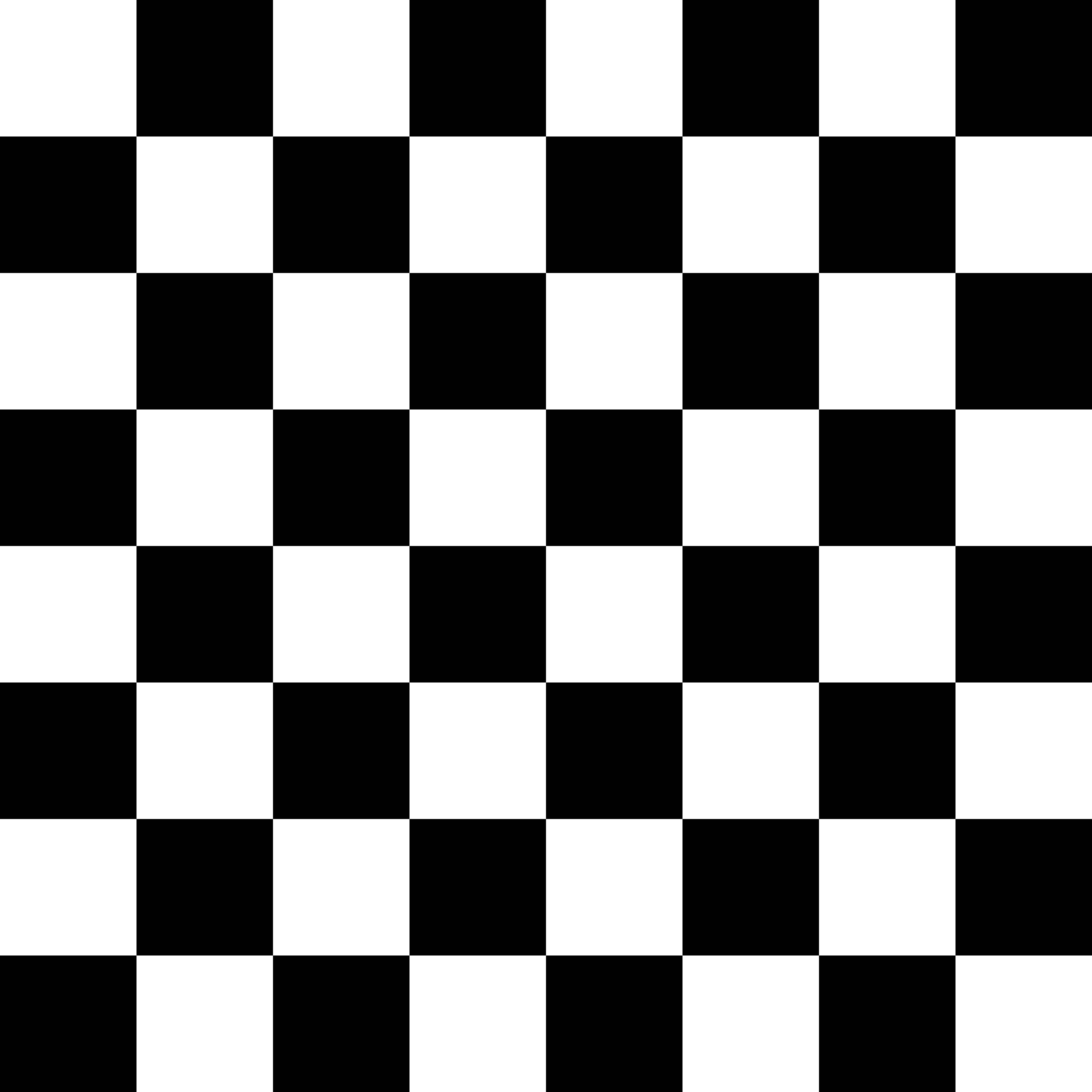 Checker Pattern Black White 639981