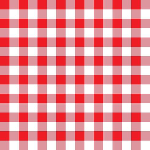 Red and Pink Plaid Fabric Pattern