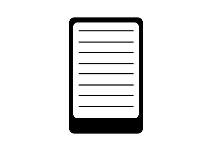 E reader icon