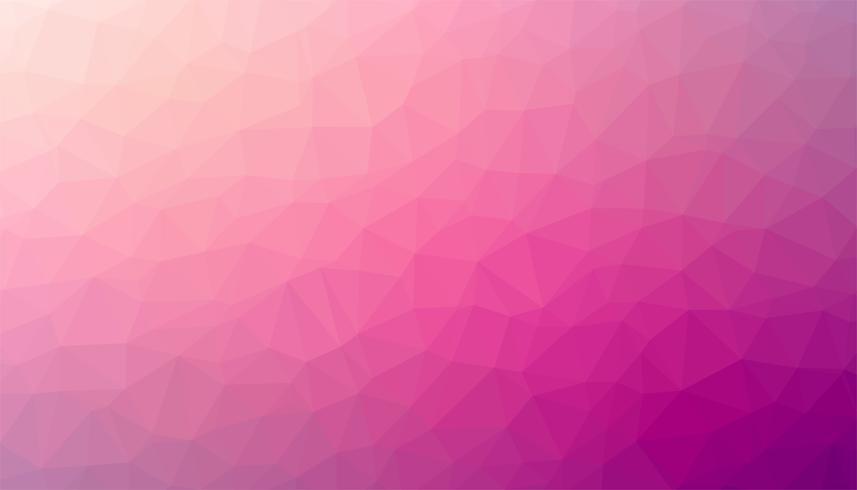 Rosa triangulerad bakgrundsstruktur vektor