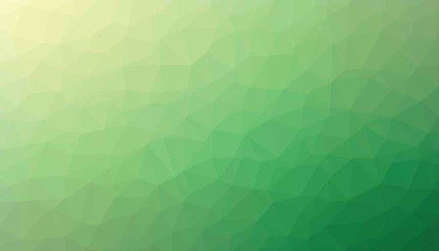 Grön färg triangulerad bakgrundsstruktur vektor