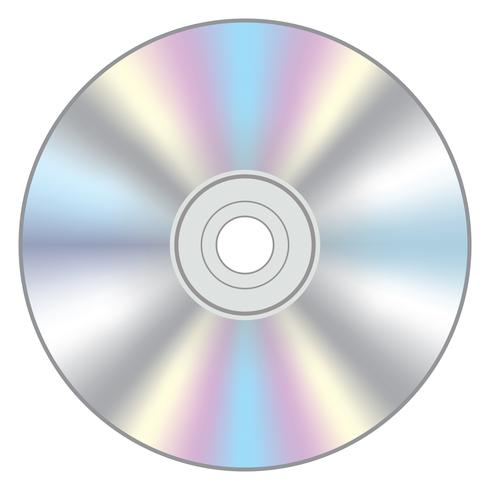 Icono de vector de CD