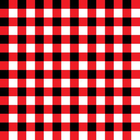 Red and Black Plaid Fabric Pattern