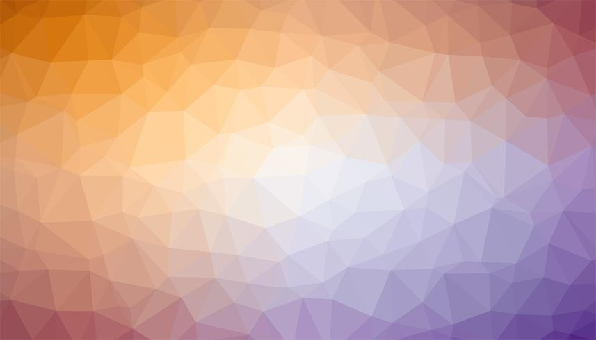 Mixed colors triangulated background texture vector