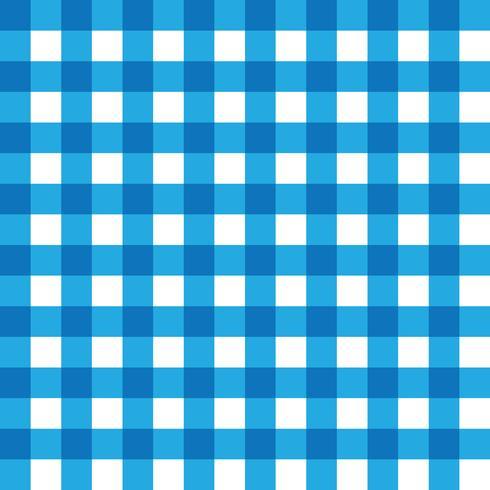 Tissu à carreaux bleu foncé et bleu clair
