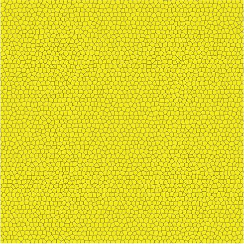 Texture de modèle vecteur cuir jaune