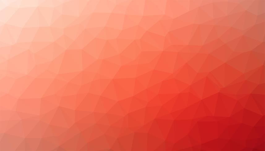 Vetor de textura de fundo triangular vermelho