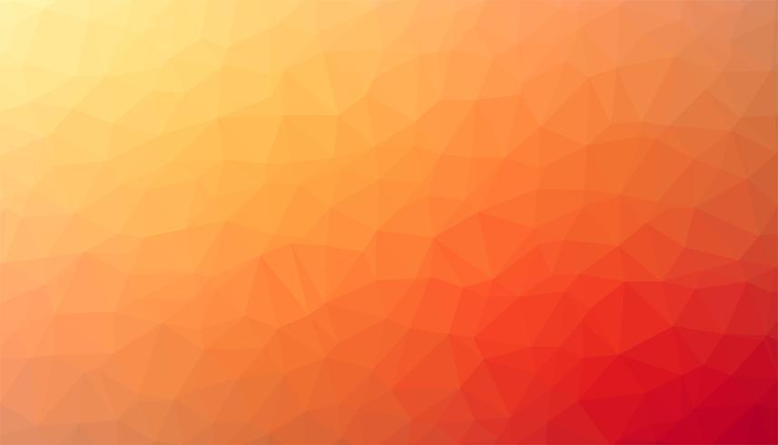 Oranje driehoekige achtergrondtextuurvector vector