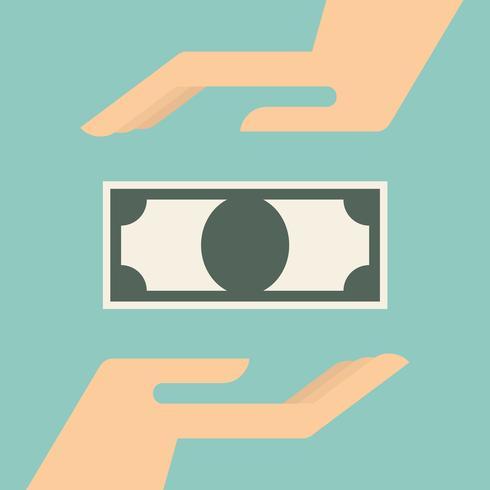 Risparmiare denaro, illustrazione vettoriale