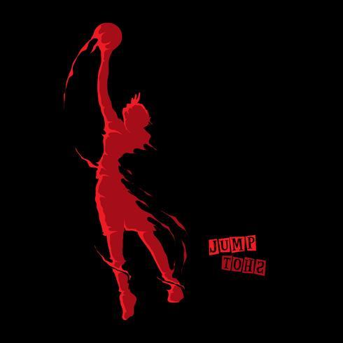Salto de baloncesto, tiro en salto