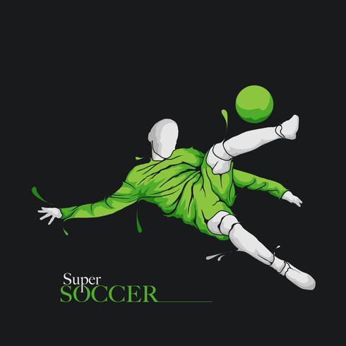 super football splash football