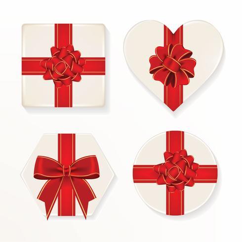 Pack de vecteur boîte de cadeau de Noël