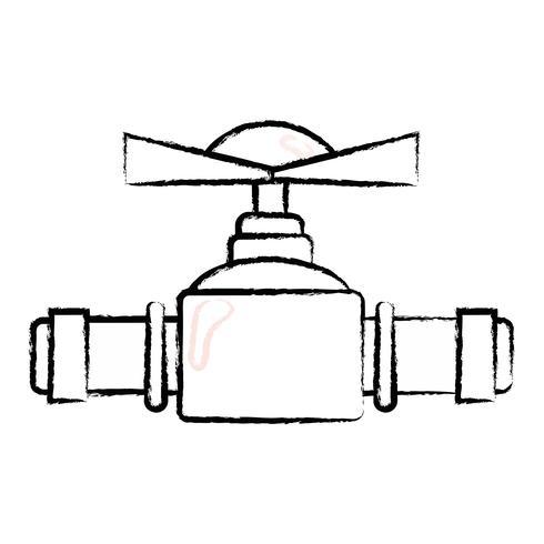 figur VVS rör reparation utrustning konstruktion