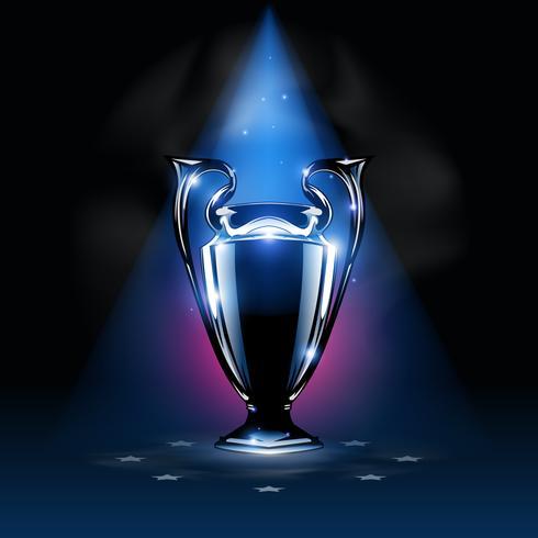Fundo de troféu de campeões