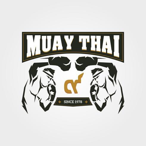 Simbolo De Muay Thai Download Vetores Gratis Desenhos De Vetor