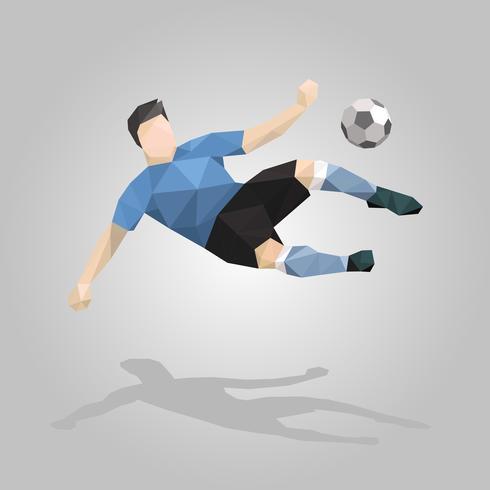 geometric overhead kick