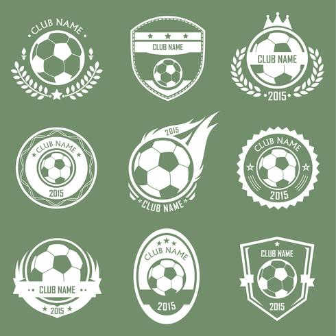 Soccer emblems logo