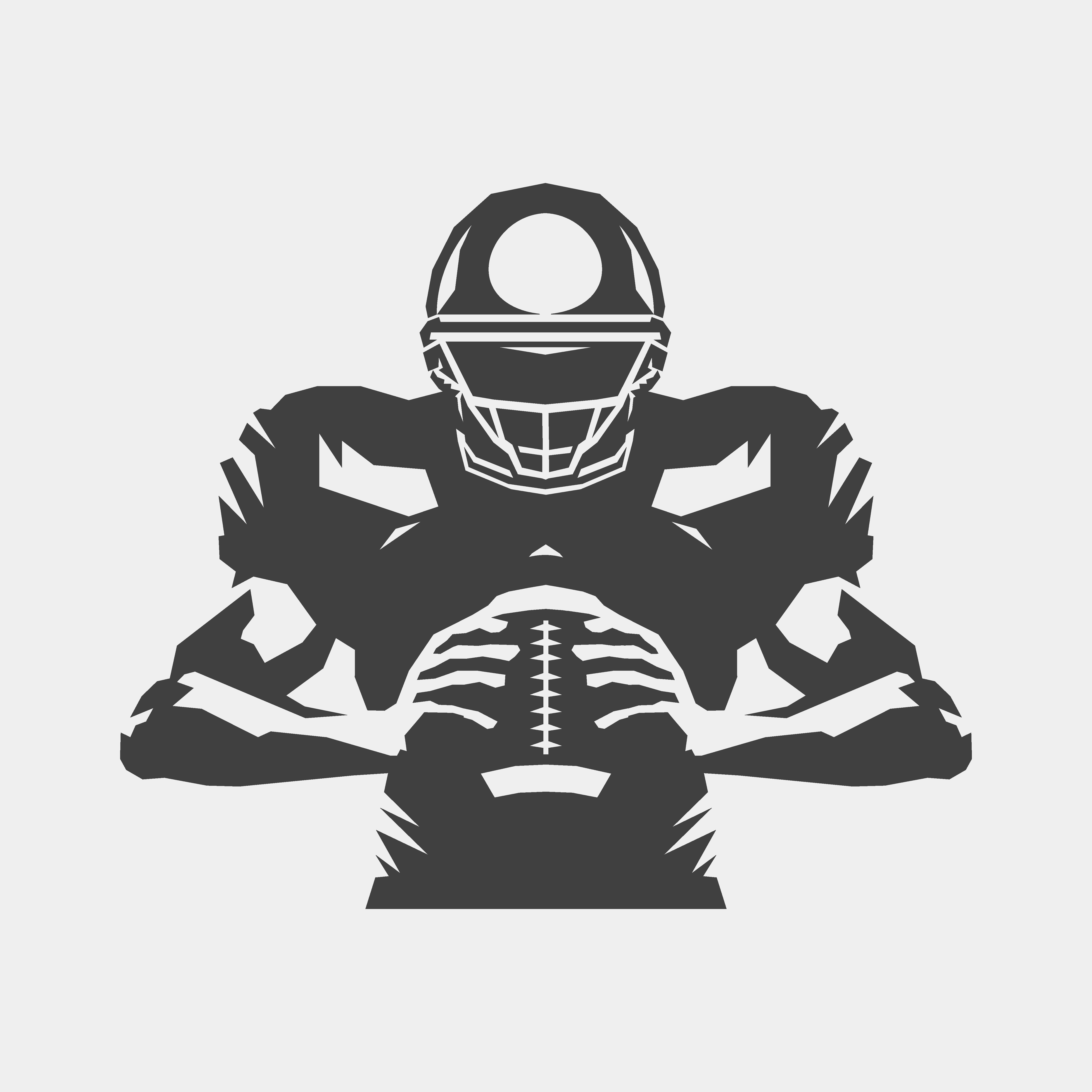 American football player - Download Free Vectors, Clipart ... (5000 x 5000 Pixel)