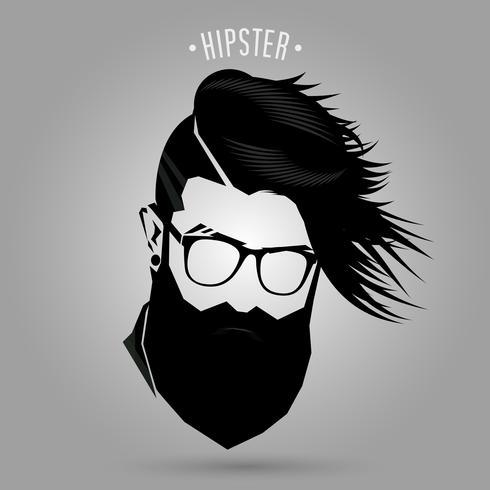 Signe de la mode hommes hipster