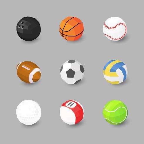 sport bal pictogrammen
