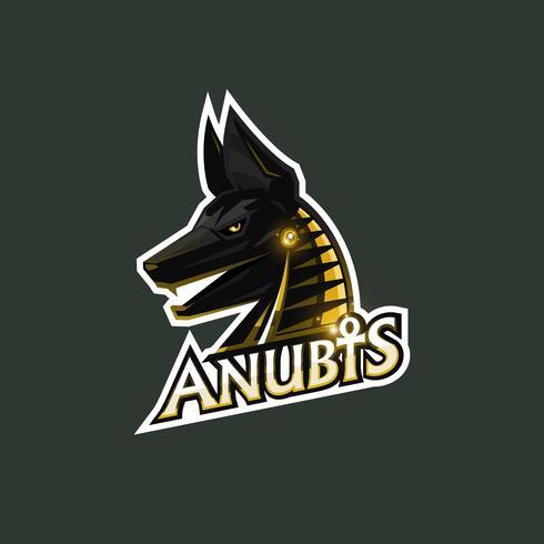 logotipo anubis esport