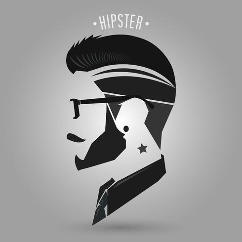 Hipster Stern Tattoo