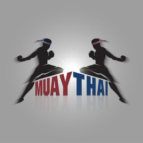Muay Thai Zeichen