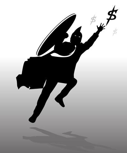 Saltando espartano de negocios