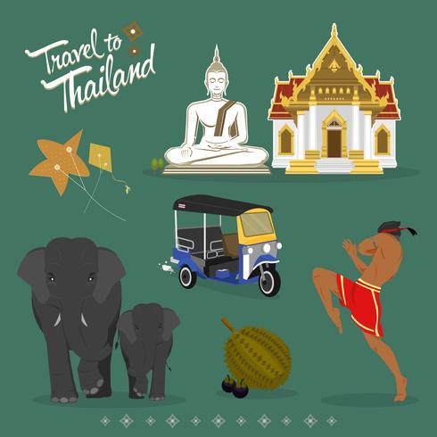 Travel Thailand symbol
