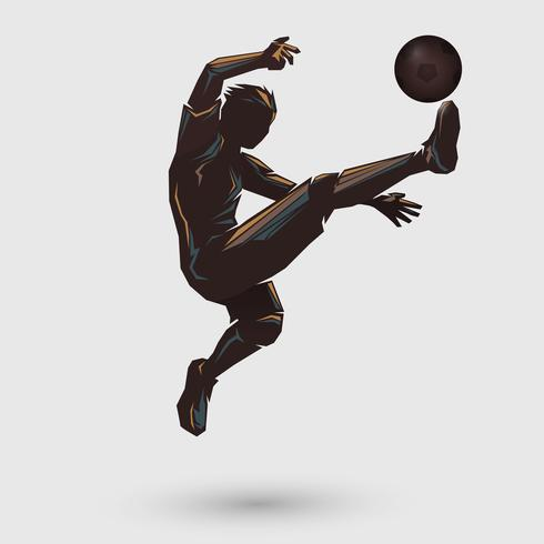 jumping kick retro color